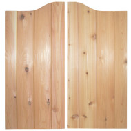 "Cedar ""V-Groove"" Saloon Doors (36""- 42"" Door Openings)"
