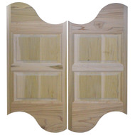 Logo Cafe / Saloon Doors (36in- 42in Door Openings)