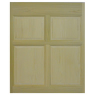 "Poplar Single Swinging Cafe Door (2'8""- 3' Door Openings)"