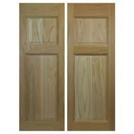 Commercial Oak Cafe Doors / Saloon Doors (4ft Door Opening)