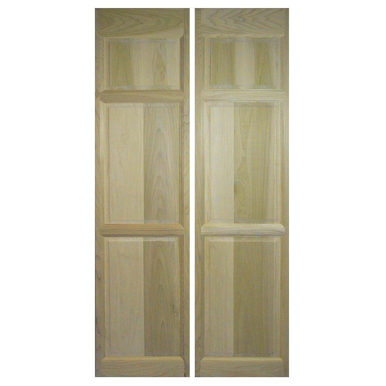 """Interior Swinging Kitchen Doors: Custom Full Length Poplar Swinging Cafe Doors / Saloon Interior Doors For 42""""-48"""" Door Openings"""