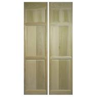 "Custom Full Length Poplar Swinging Cafe Doors / Saloon Interior Doors for 42""-48"" Door Openings"