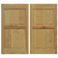 Solid Ash Cafe / Saloon Doors (42in- 48in Door Openings)