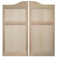 Oak Western Saloon Doors (4' Door Opening)