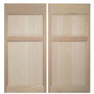Oak Western Saloon Doors (4' Door Openings)