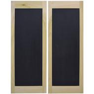 Chalkboard Saloon Doors / Cafe Doors (4' Door Opening)