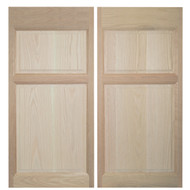 "Oak Western Saloon Doors \ Cafe Doors (4' - 4' 6"" Door Openings)"