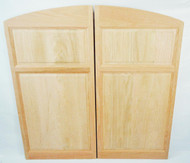 Archway Oak Cafe Doors