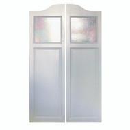 """Glass Saloon Door 42"""" - 48"""" Door Opening"""