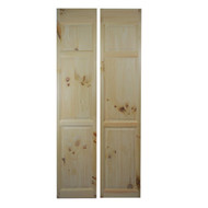 "Pine Full Length Saloon Doors 24""-30"" Cafe Doors"