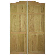 Oak Full Length Cafe | Saloon Doors