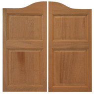 "Sapele Western Saloon Doors \ Cafe Doors (4'- 4' 6"" Door Openings)"