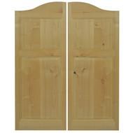 """Rustic Alder Western Cafe / Saloon Door ( 42""""-48"""" Door Openings)"""