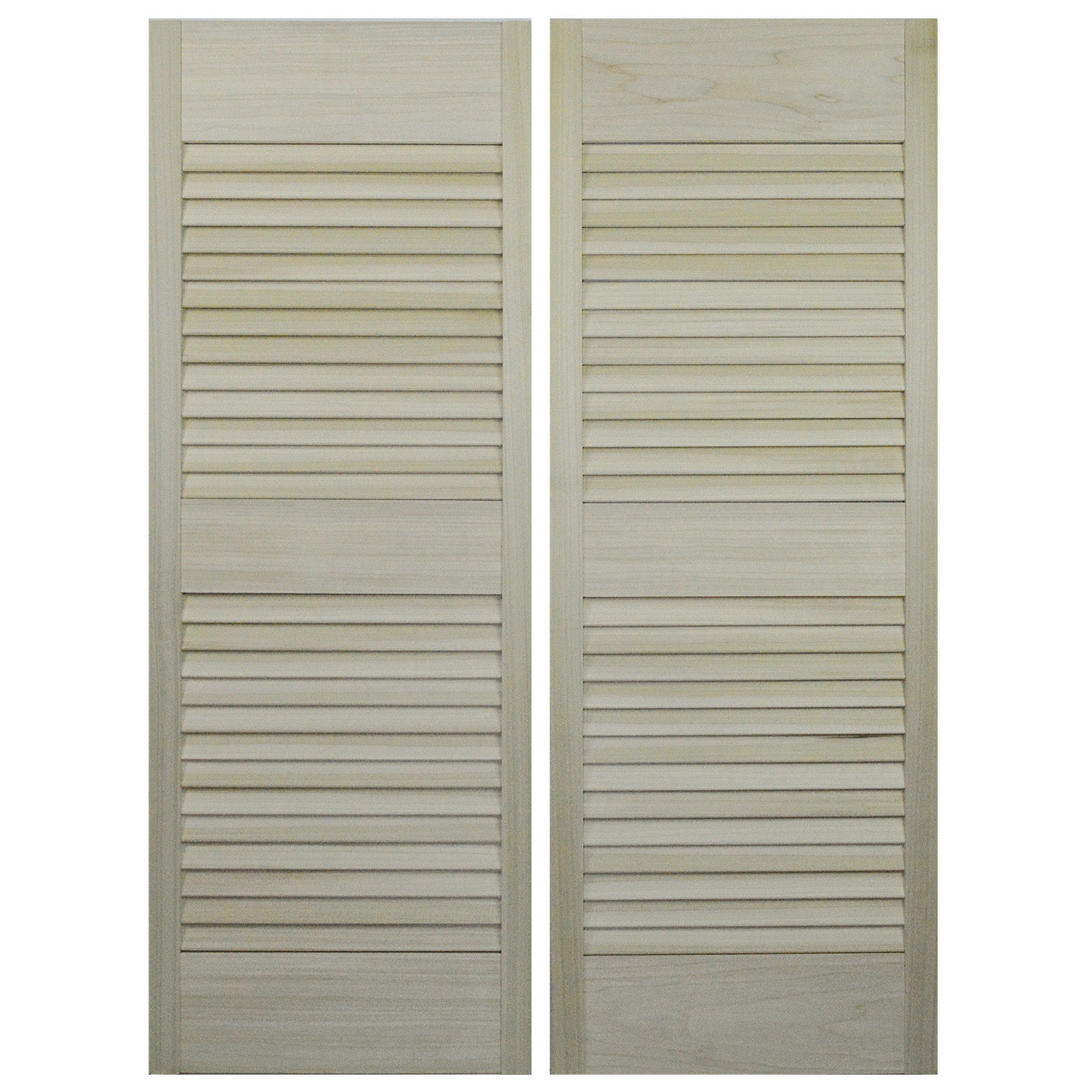Custom hardwood louvered saloon doors cafe doors to fit for 18 inch louvered door