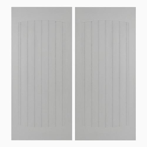 Custom Craftsman Beadboard 24 -36  Saloon Doors ...  sc 1 st  Swinging Cafe Doors & Saloon Doors | Cafe Doors Custom Beadboard Door Opening Painted White