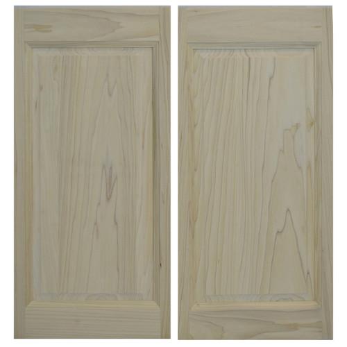 Raised Panel Cafe Door (24\ - 36\  Door ...  sc 1 st  Swinging Cafe Doors & Raised Panel Cafe Doors / Saloon Doors Fits Any 24\