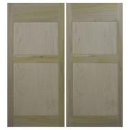 "Poplar Farmhouse Shaker Style Western Saloon Doors | Cafe Doors (42""- 48"" door openings)"