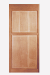 "Single Swinging Sapele Swinging Cafe Door / Saloon Door / Shower Stall Door 32""-36"" Openings"