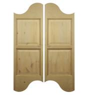 """Rustic Alder Logo Saloon Door (42""""-48"""" Door Openings)"""