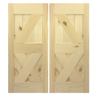 Interior Barn Doors | Custom Sliding Barn Doors | Double Barn doors