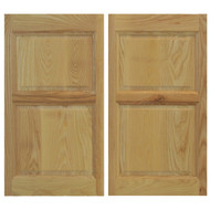 "Ash Western Rustic Saloon Doors (24""-36"" Door Openings)"