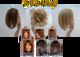 """10'-12"""" Human Hair Topper"""