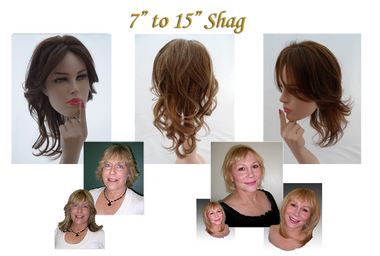 "If it's an already layered look you want...the 7""-15"" Shag Topper is fantastic!"