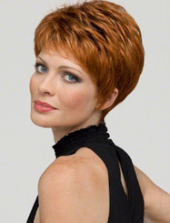 Heather Human/Synthetic Wig