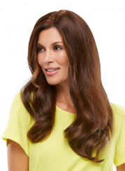 Top Form Human Hair Topper (Shaded) 18""