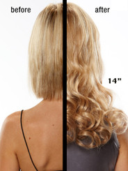 Easy Volume Human Hair Volumizer 14""