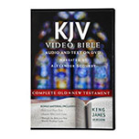 KJV Bible on DVD narrated by Alexander Scourby, Deluxe Edition