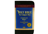 King James Bible on CD by Alexander Scourby (Voice Only) on 60 CDs