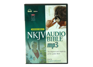 NKJV New King James Version Audio Bible for MP3 & iPod, Voice Only