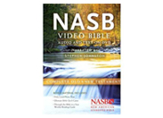 NASB Video Audio Bible on DVD, Deluxe Edition