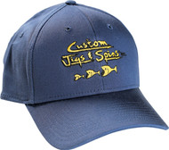 Custom Jigs & Spins New Era Wool Structured Ball Cap
