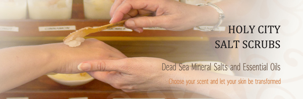 Dead Sea Mineral Salts and Essential Oils