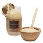 Holy City Revitalizing Dead Sea Salt Hand and Body Scrub Gift Set Comes with Wooden Bowl