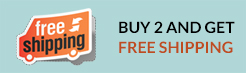 BUY 2 AND GET FREE SHIPPING