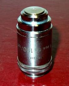 Leitz 100X Plan Apochromat Oil Immersion Microscope Objective