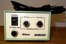 Nikon Narishige Manipulator Footswitch Power Supply Control Unit