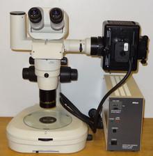Nikon SMZ800 Fluorescent Stereo Microscope