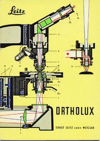 Leitz Ortholux  Microscope Manual on CD