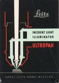 Leitz Microscope Ultropak Illuminator Manual on CD