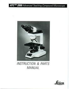 Leica ATC 2000 Microscope Instruction Manual on CD
