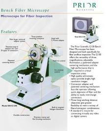 Prior Scientific Fiber Optic Bench Microscope
