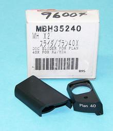 Nikon DIC Microscope Slider for Plan 40X Objective
