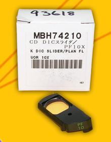 Nikon DIC Microscope Slider for Plan Fluor 10X