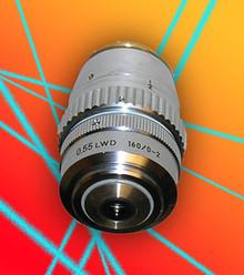 Nikon 40X LWD Microscope Objective for 160mm TL scope