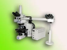 Nikon E600 DIC Dual View Fluorescent Microscope