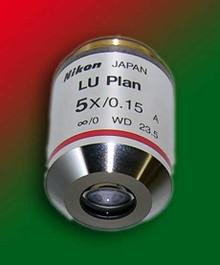 Nikon CFI LU Plan EPI 5x Industrial Objective